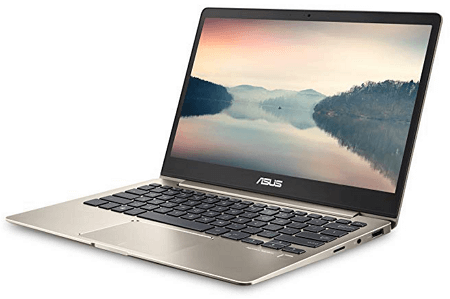 ASUS ZenBook Laptop for writers