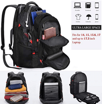 Nubility Laptop Backpack review 3