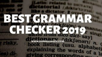 Best Gramar Checker 2019