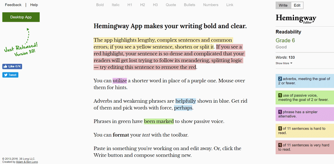 Hemmingway a grammarly alternative