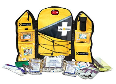 Life Gear Wings of Life Emergency Survival Kit - Disaster and Emergency Preparedness Bug Out Bag