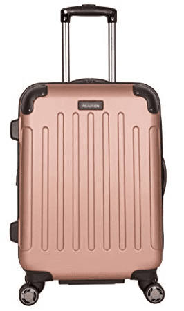 Kenneth Cole Reaction Renegade Hardside Expandable 8-Wheel Spinner Carry-on Luggage Rose Gold