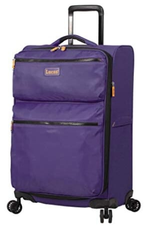 Lucas Luggage Ultra Lightweight Large