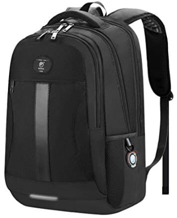 Sosoon Business Bags with USB Charging Port Anti-Theft Backpack