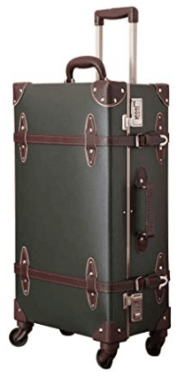 Uretravel Aluminum Frame Retro Luggage