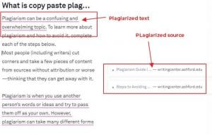 how to copy and paste without plagiarizing