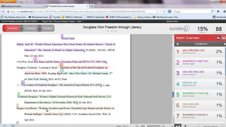 best plagiarism checker for college students