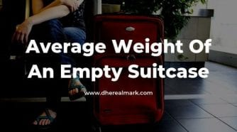 Average Weight of an Empty Suitcase