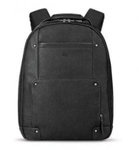 Solo Reade Vintage Leather Laptop Backpack