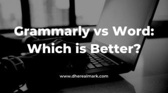 Grammarly vs Word: Which is Better?