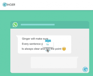 Ginger Software Grammar Checker