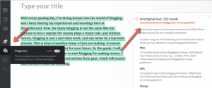 How Grammarly detects plagiarism