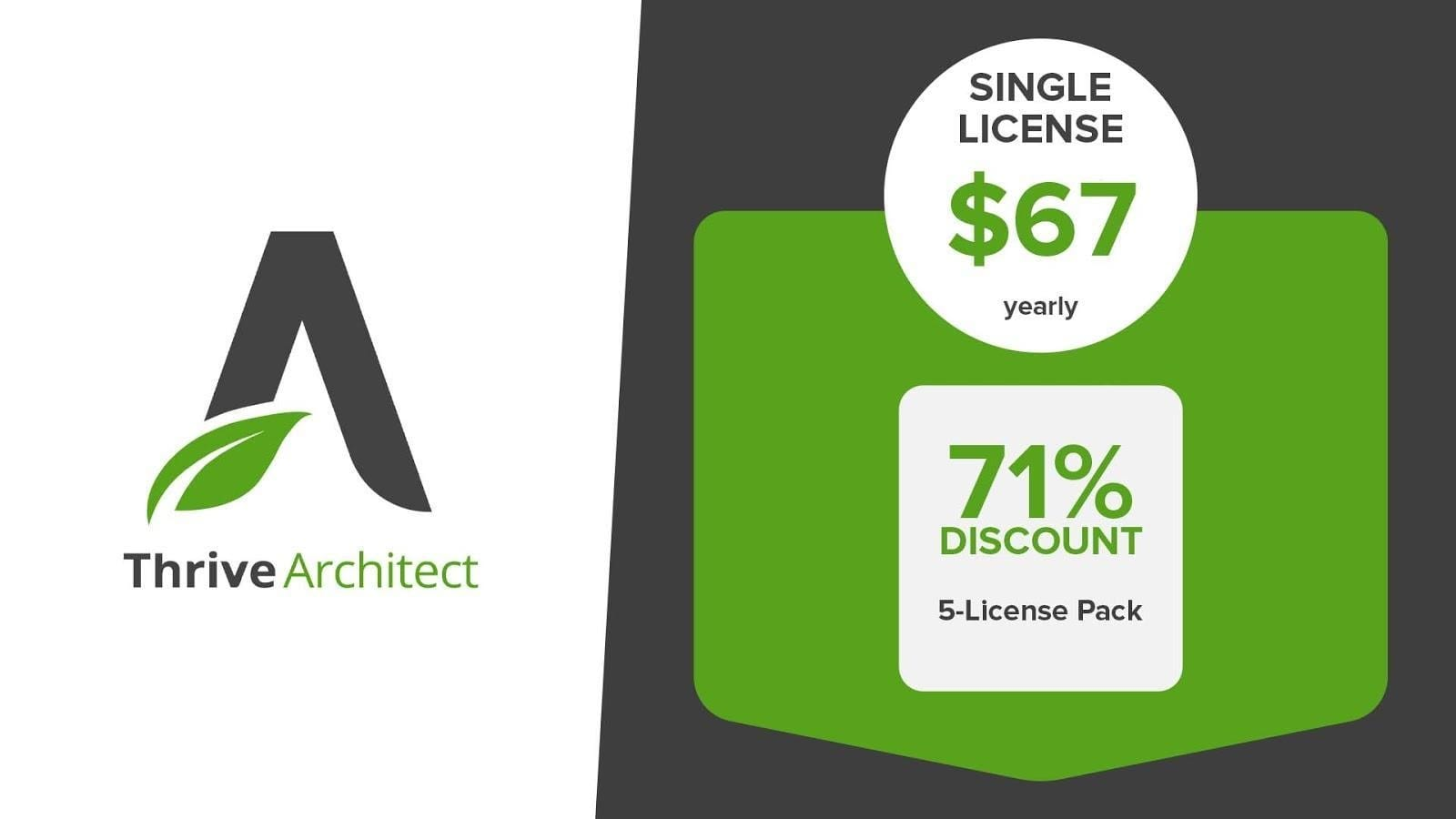 Thrive architect discount
