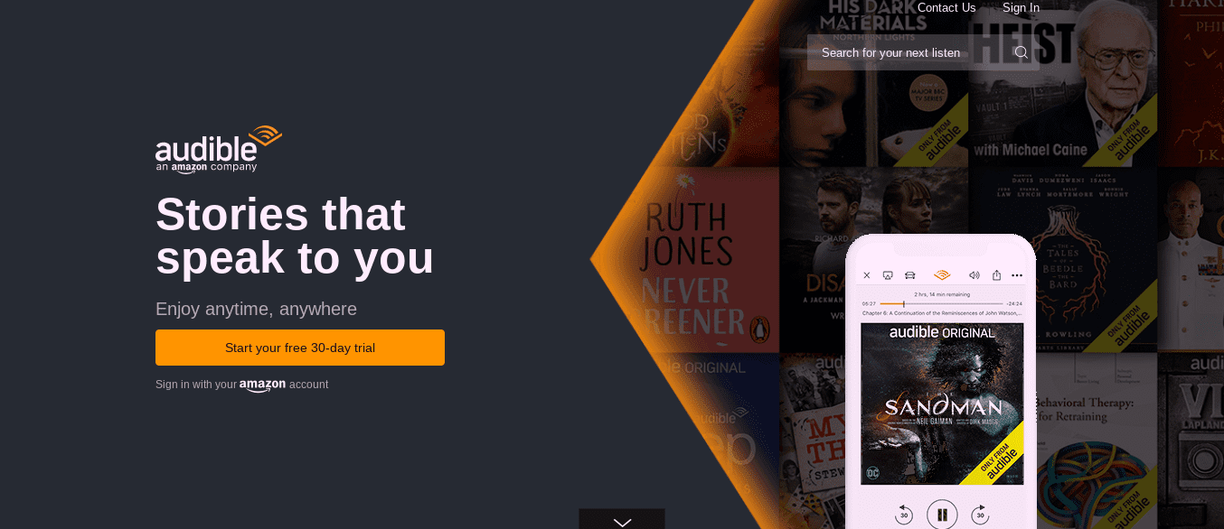 Audible free trial no credit card