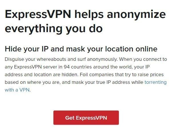 is it safe to torrent with expressvpn