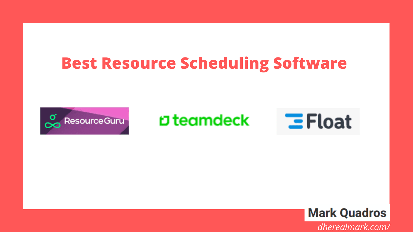 Best Resource Scheduling Software