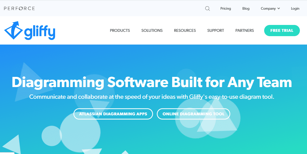 Gliffy mind mapping software