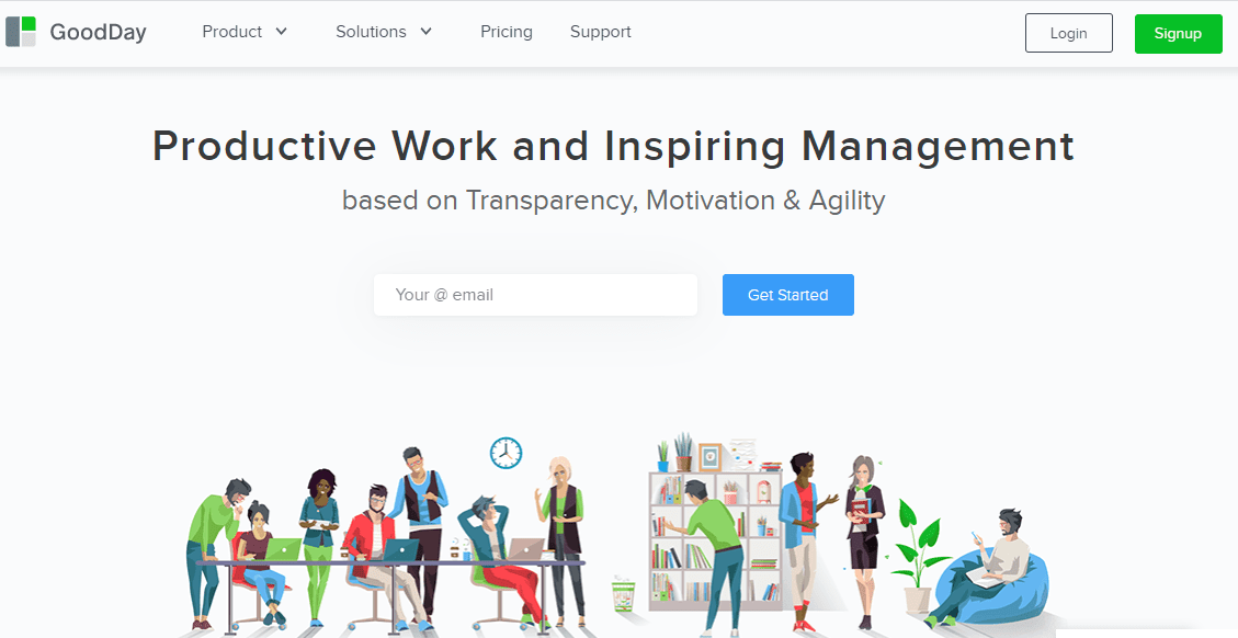 GoodDay resource management software 1