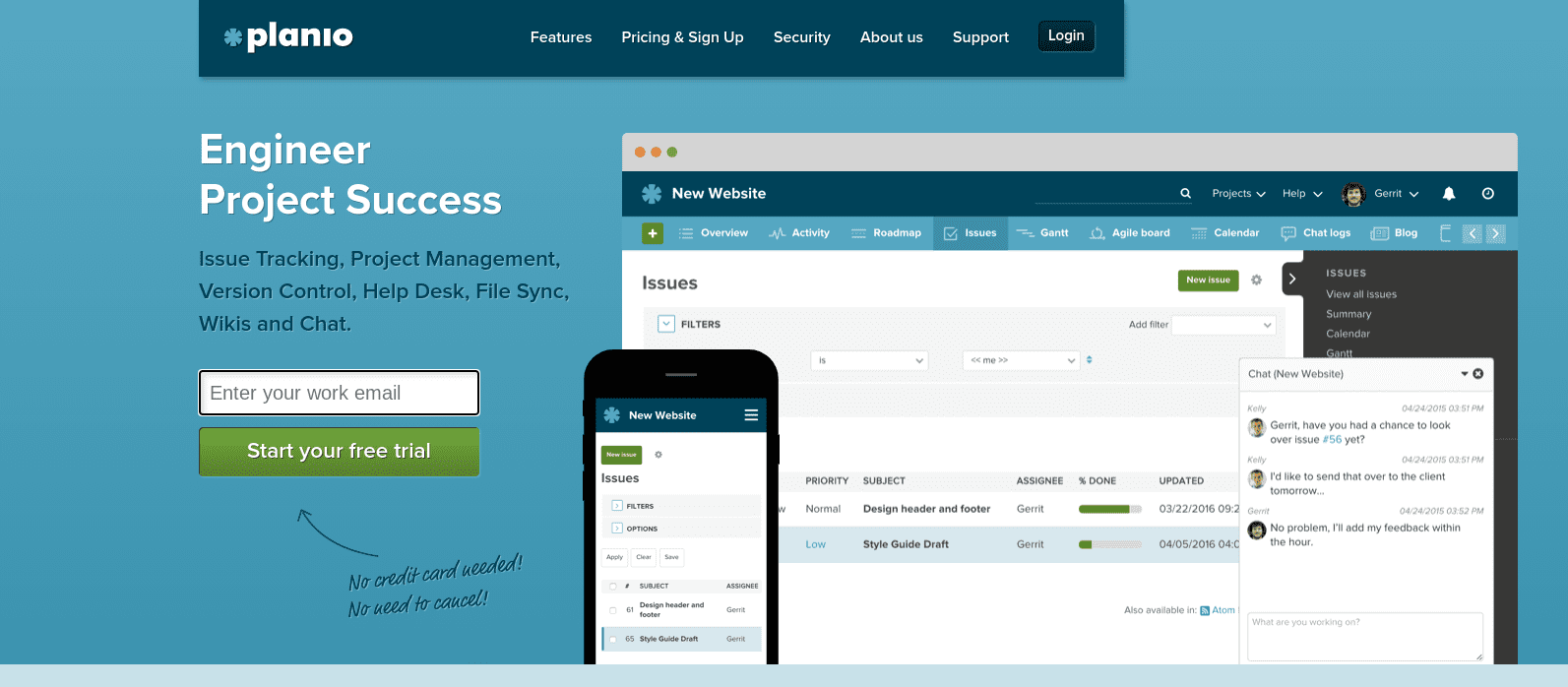 Plan.io Project Management Software