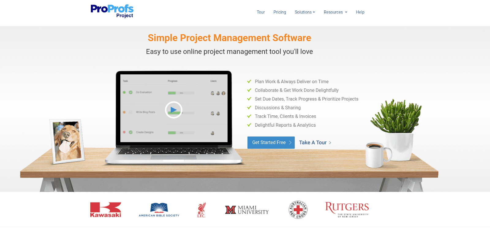 ProProfs Project PM Tool