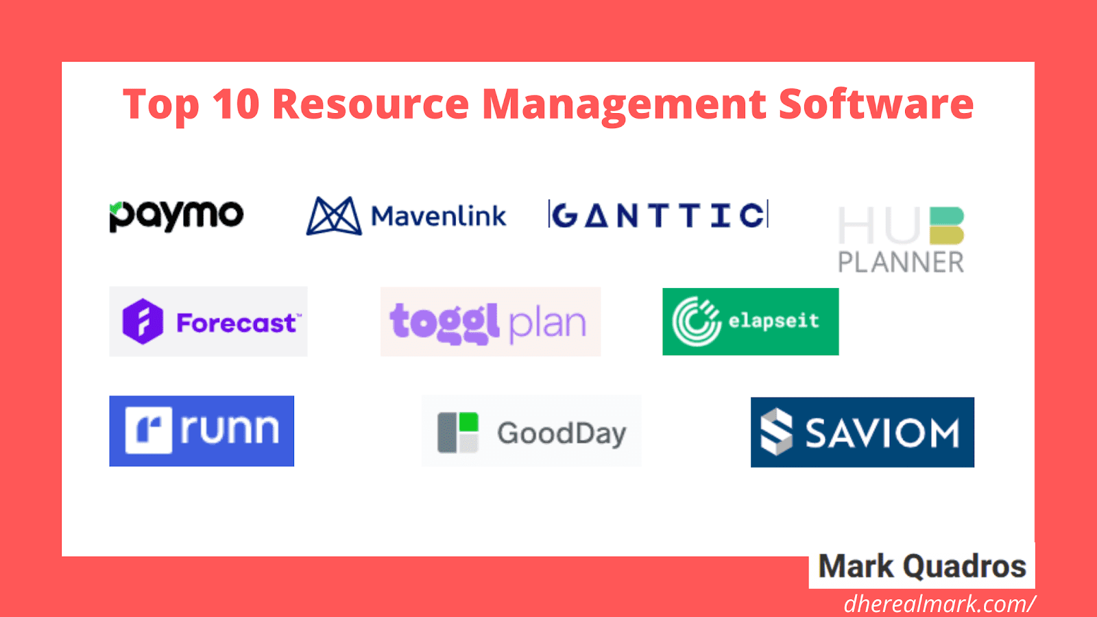 Top 10 Resource Management Software