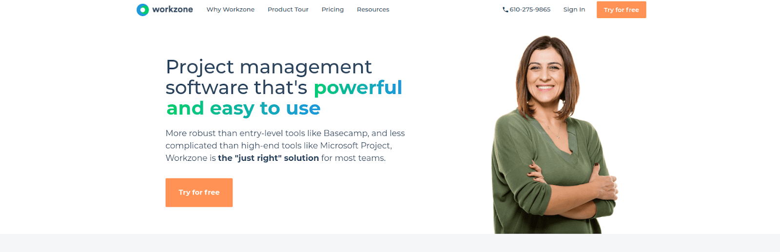Workzone Project Management Software