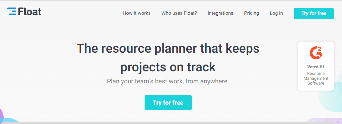 float resource planning software