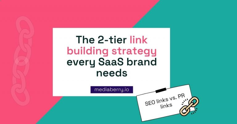 link building strategy for saas brands